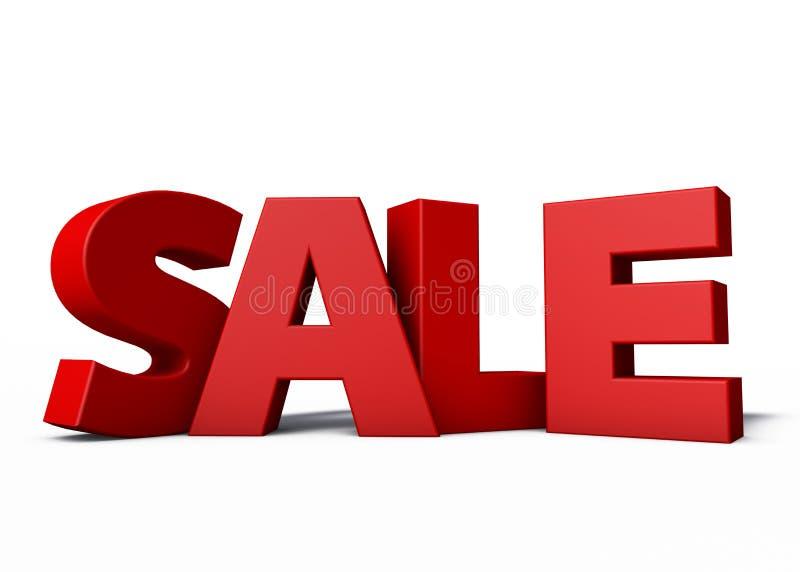 Sale 3d royalty free illustration