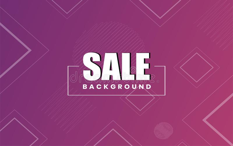 Sale abstract background design layout stock illustration