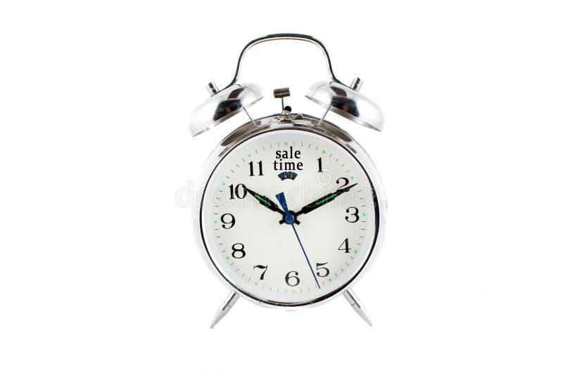 Sale alarm clock stock photography