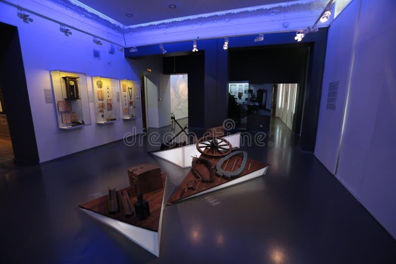 Sale Arsenyev muzeum fotografia stock