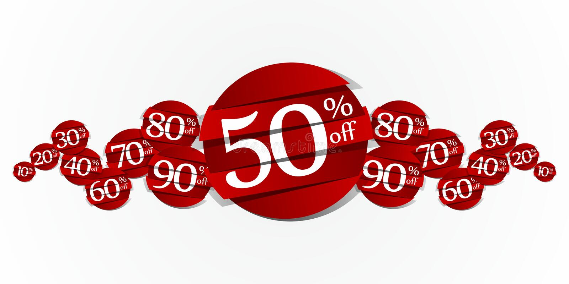 Sale Badges stock illustration