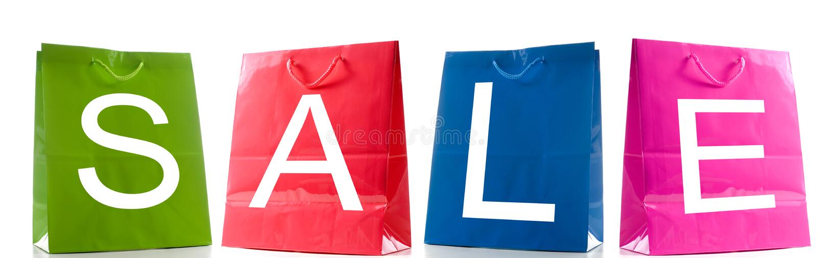 Download Sale Bags Stock Photo - Image: 24003490