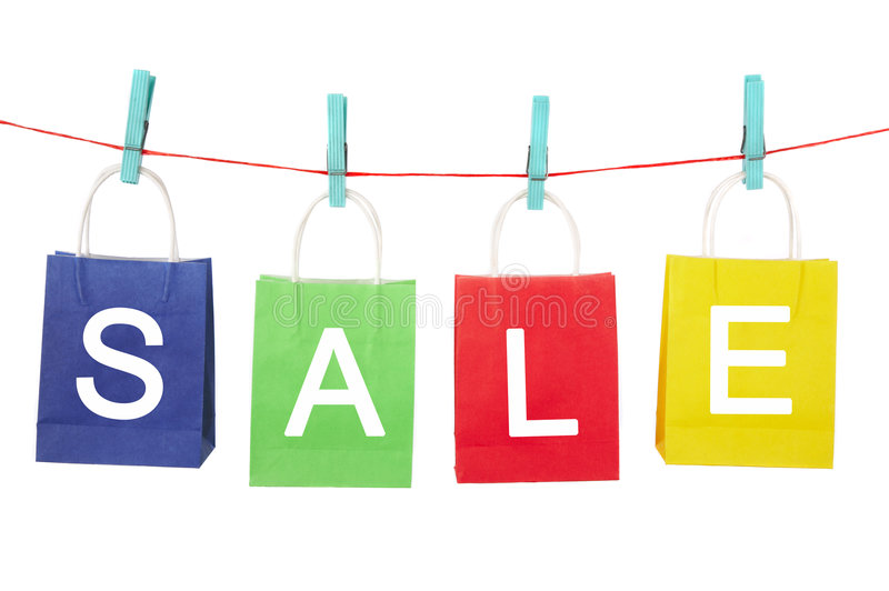Download Sale - Bags Stock Photography - Image: 3624922