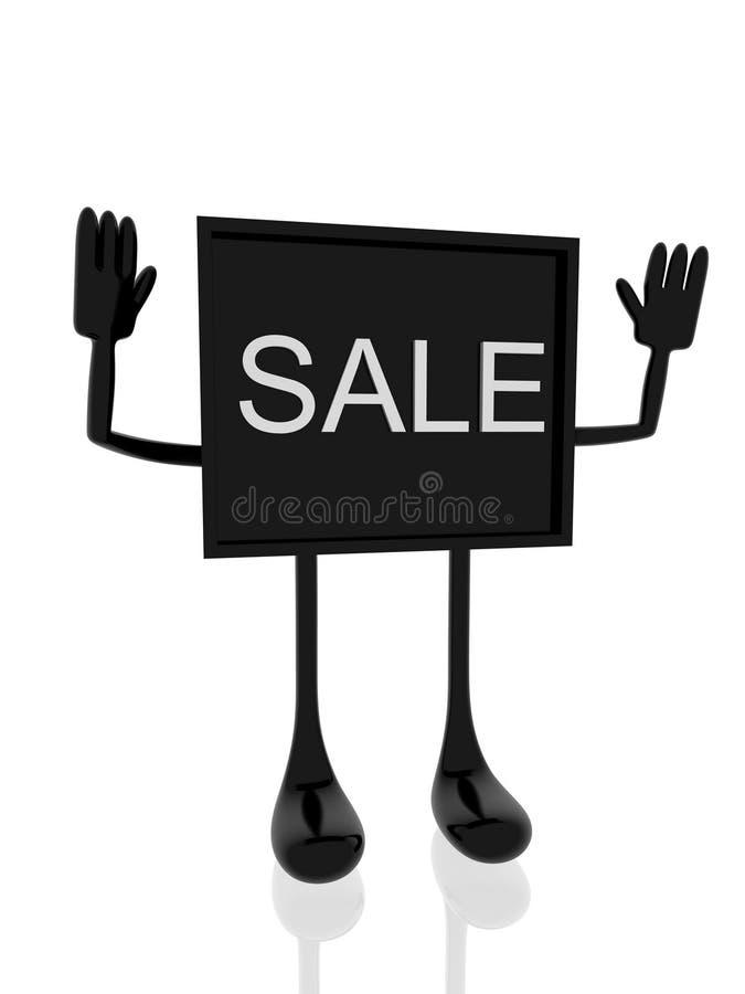 Download Sale banner stock illustration. Illustration of hand - 17778567