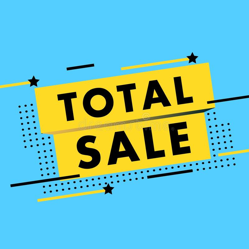 Sale banner vector illustration. Discounts and promotional Mega sale offers design template. Promotional offer web stock photos