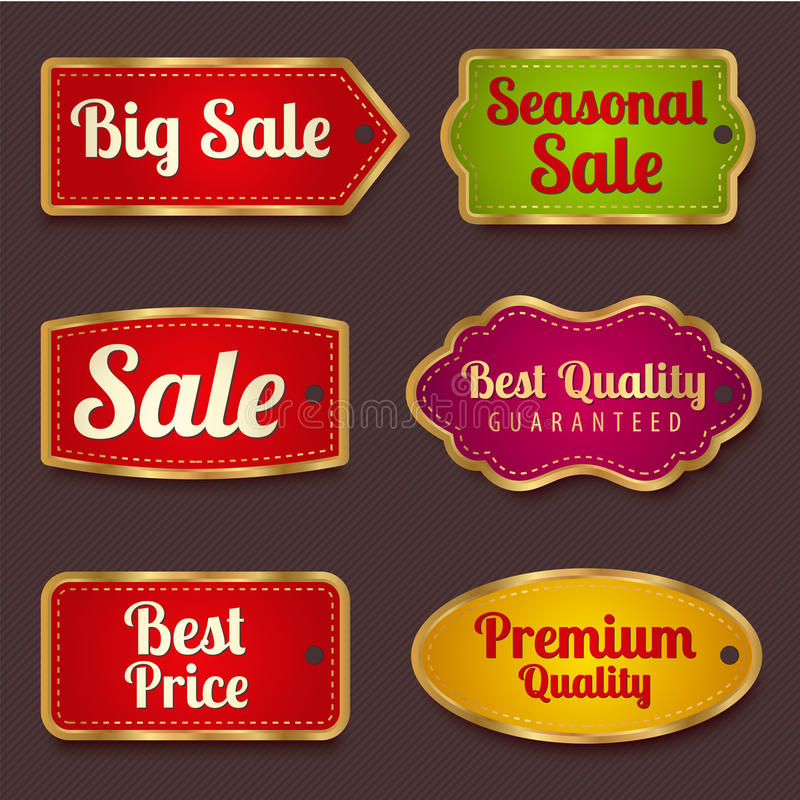 Free Sale Banners, Labels (coupon, Tag) Template Stock Photo - 32894160