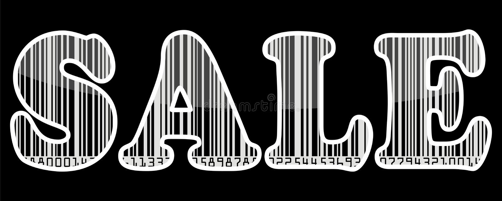 Download Sale barcode sticker stock vector. Image of banner, label - 16879682