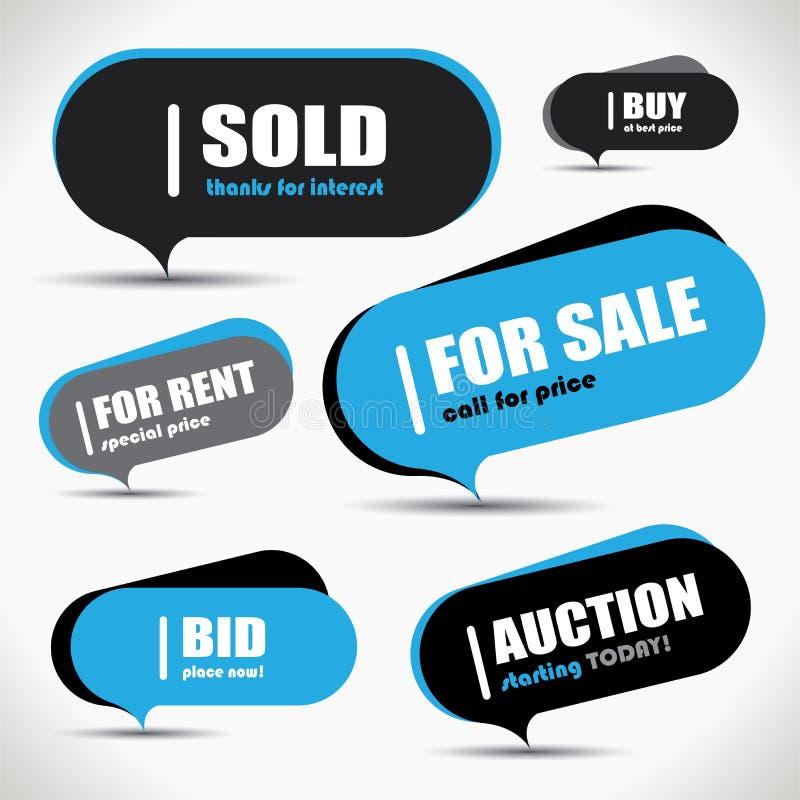 Download Sale bubble set stock vector. Illustration of message - 31992206