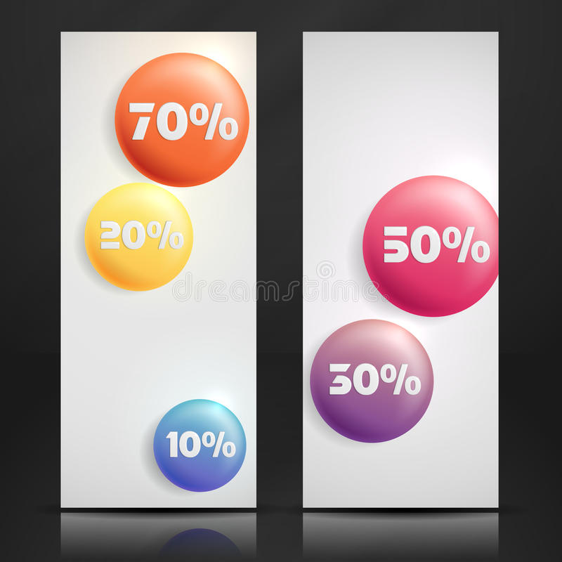 Sale Buttons. Banner. vector illustration