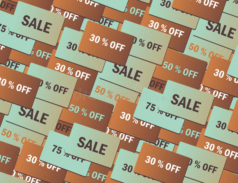 Sale Cards Royalty Free Stock Image