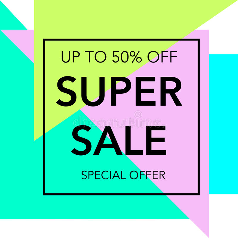 Sale colorful bright poster promo department store. Fashion product discount . Vector illustration vector illustration