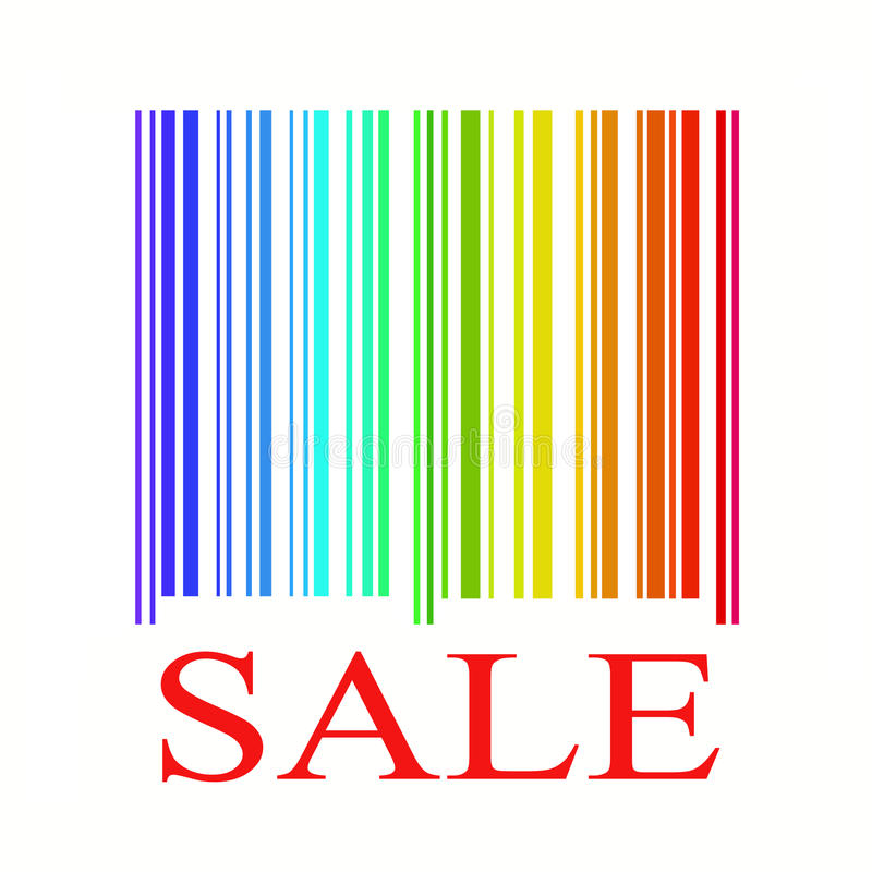 Sale concept royalty free illustration