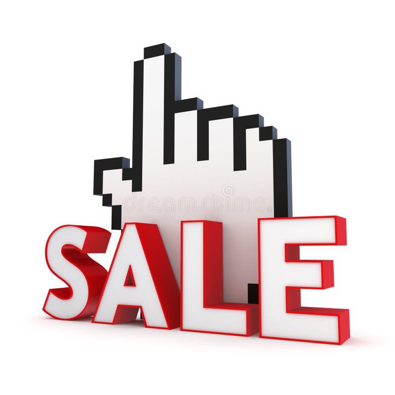 Download Sale concept. stock illustration. Image of present, click - 28860661