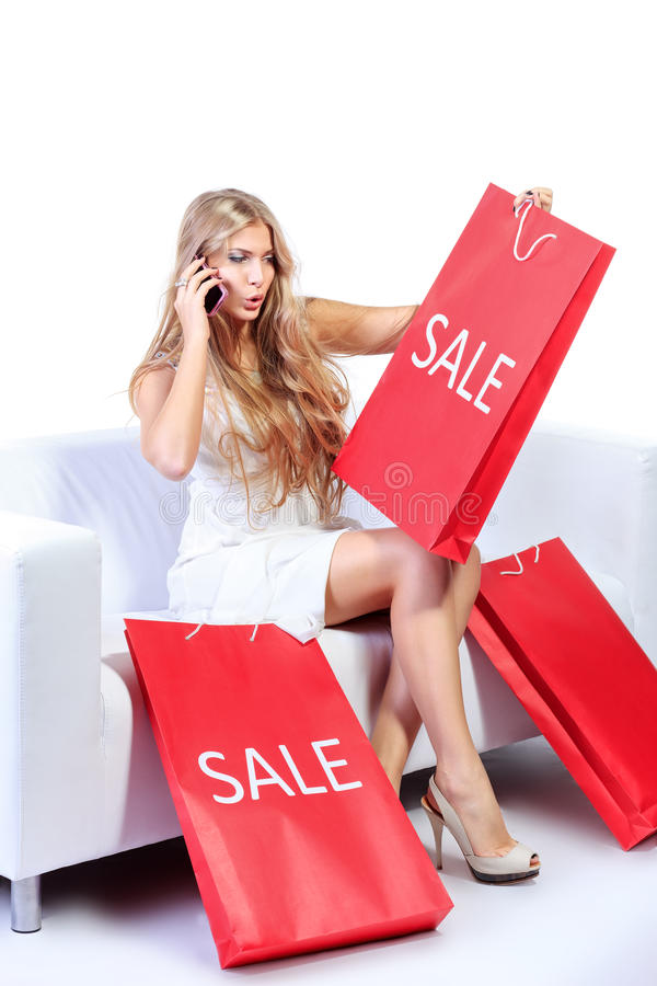 Sale delight royalty free stock images