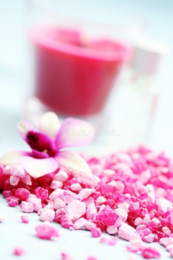 Download Sale di bagno del fiore immagine stock. Immagine di trattamento - 7309709