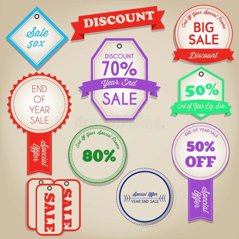 Sale discont label vector illustration