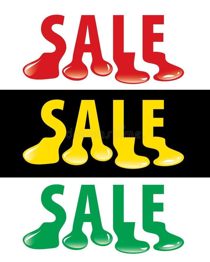 Download Sale drop stock vector. Image of blob, inkblot, illustration - 10526484