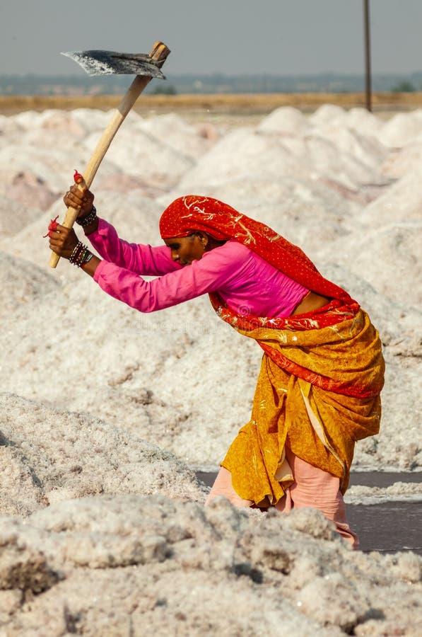 Sale estraente della donna indiana immagini stock