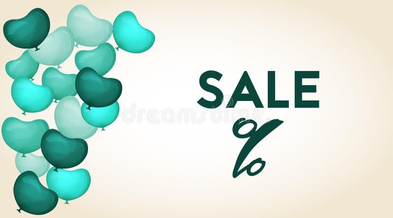 Sale etikettmall vektor illustrationer