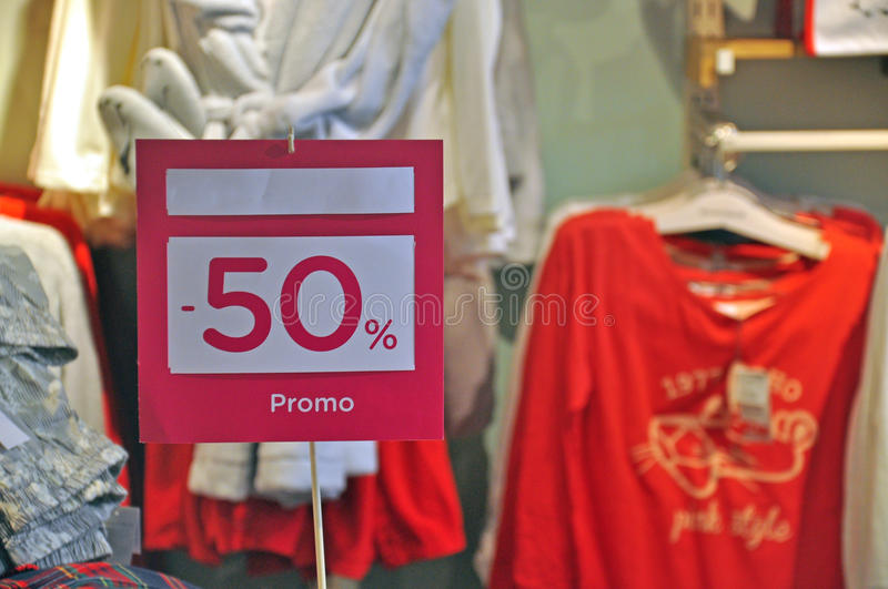 Download Sale 50 stock image. Image of clothes, shop, inside, supermarket - 36043377
