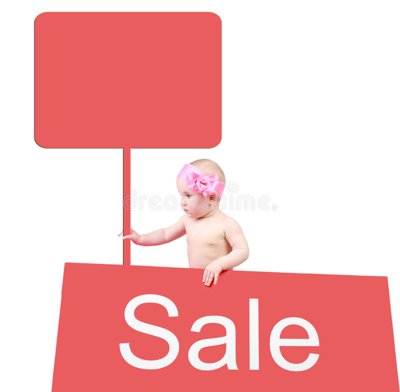 Free Sale For Children Stock Photography - 5138232