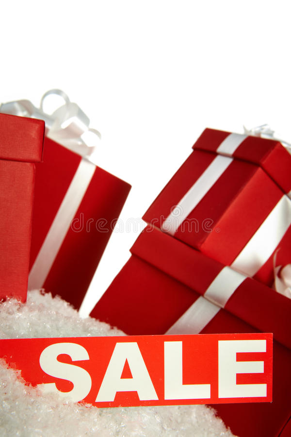Sale and gifts stock image
