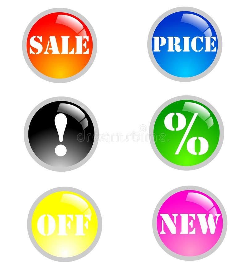 Download Sale icon stock illustration. Illustration of christmas - 11892764