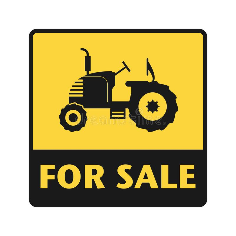 For Sale icon or sign stock illustration