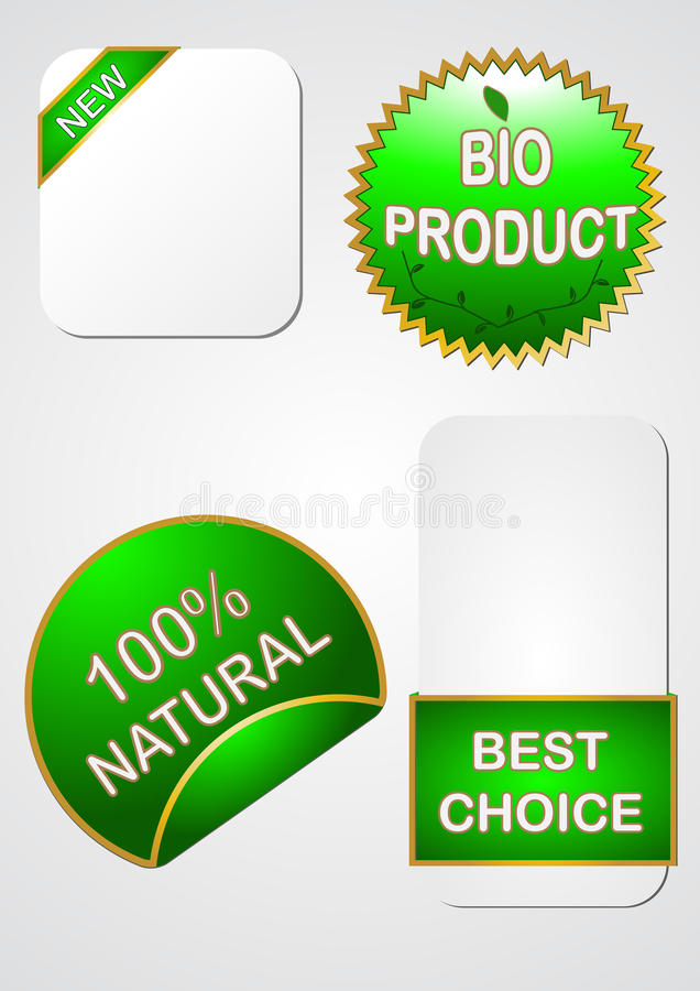Sale icons and labels stock illustration