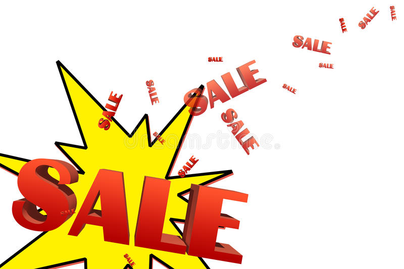 Download Sale illustration stock illustration. Illustration of friday - 27746228