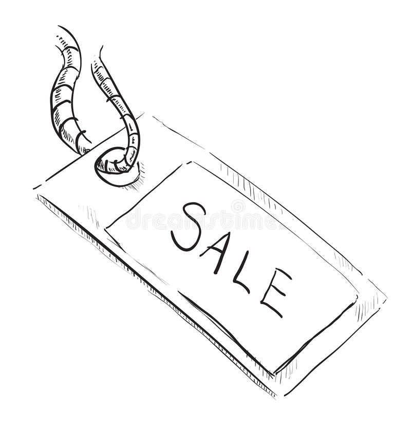 Sale Luggage Tag Icon Stock Photos