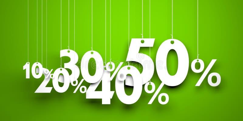 Sale metaphor stock illustration