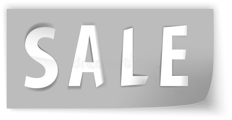 Sale Papercut 2 Royalty Free Stock Photo