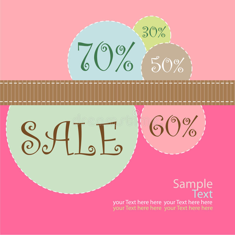Download Sale poster stock vector. Illustration of banner, advertising - 12599486