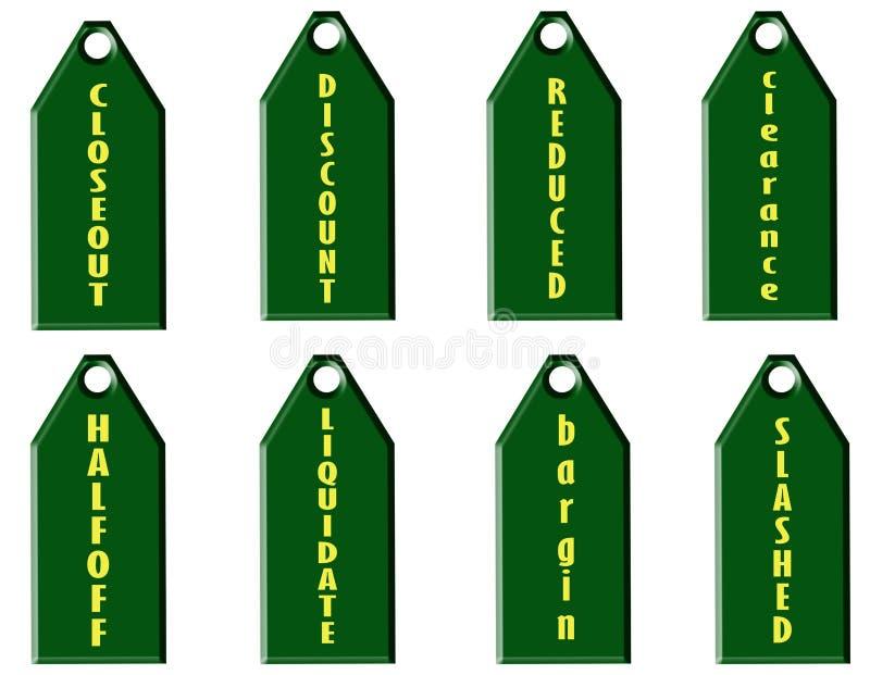 Download Sale price tags stock illustration. Image of liquidate - 23062191