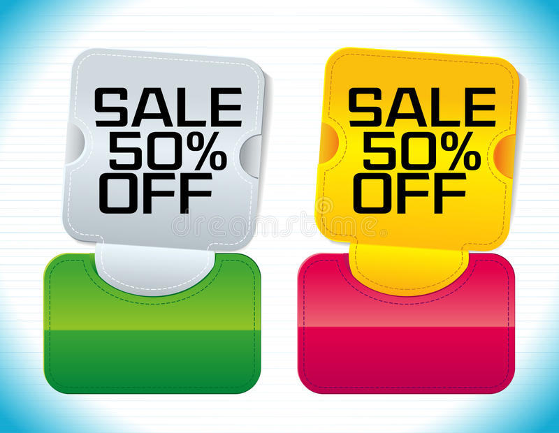 Promotion Tag: Sale Promotion Tag Royalty Free Stock Photography
