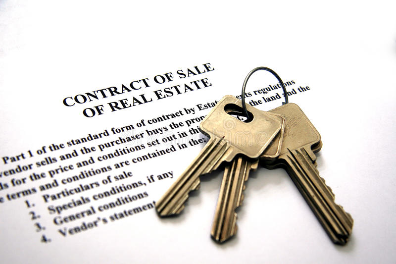 Sale of real estate stock photos