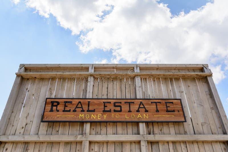 sale real estate inscription stock photo