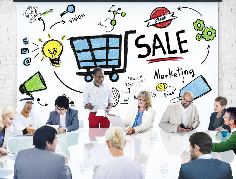 Sale Sales Selling Finance Revenue Money Income Payment Concept stock photography