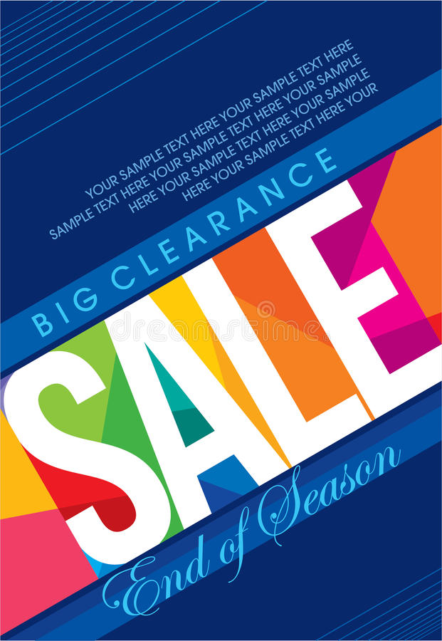 Sale shoppingbakgrund och etikett för affärsbefordran stock illustrationer