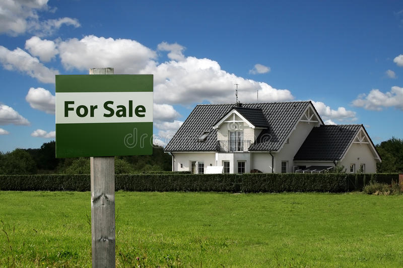 Download For sale sign stock image. Image of land, mortgage, purchasing - 13784495