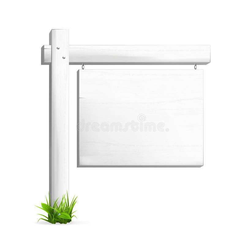 For sale sign. Computer illustration on a white background vector illustration