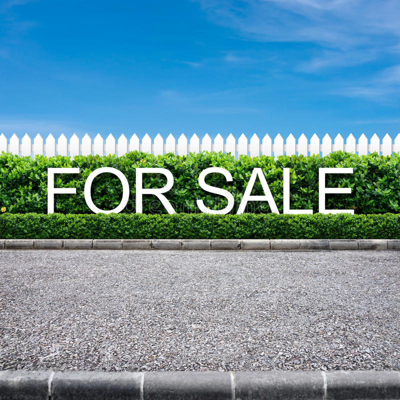 Download For sale sign stock image. Image of white, view, side - 26328889