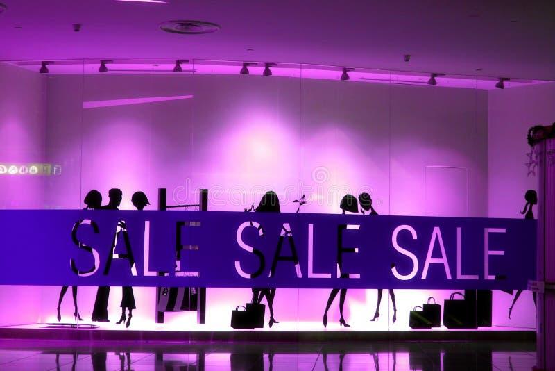 Sale signs. A unique sale sign on a store stock photo