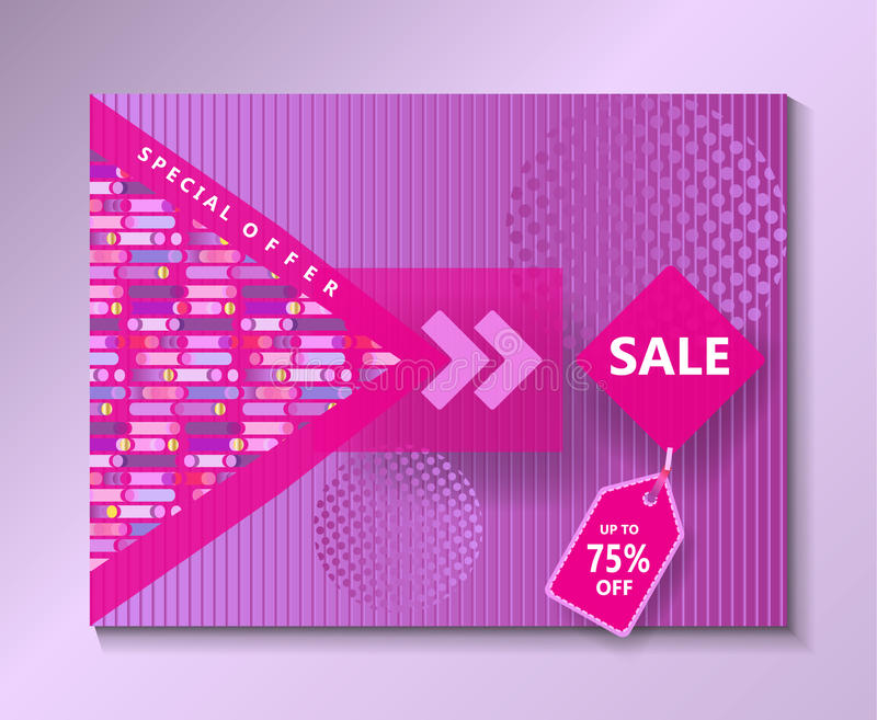 Sale special offer royalty free illustration