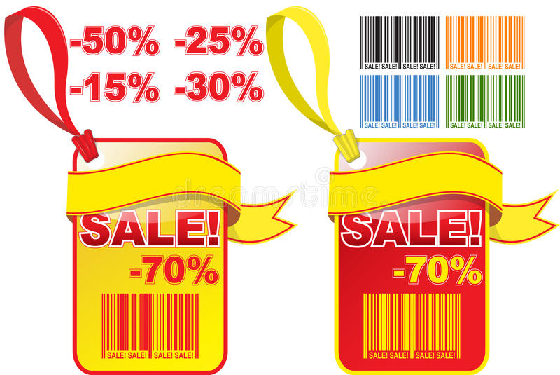 Sale tag vector illustration