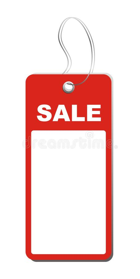 Download Sale tag stock vector. Image of cost, blank, free, graphic - 17955725