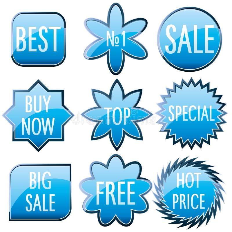 Sale Tags stock illustration