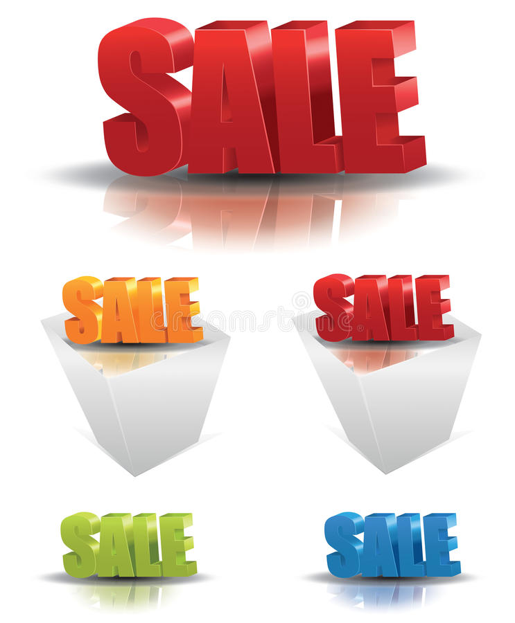 Download Sale Text stock vector. Image of marketing, arrow, colorful - 27902599