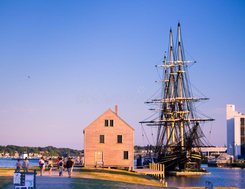 Salem, beira-rio do miliampère imagens de stock royalty free